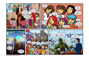 Growth drive comic 3 intro page by Ritualist