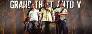 Grand Theft Auto 5 Facebook Timeline - With Font by DremoraValkynaz
