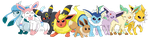 Eeveelutions 2015 by ToonTwins