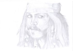 CAPTAIN Jack Sparrow by RUBYREDMOND