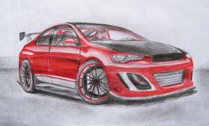 Mitsubishi Lancer Evolution X by TeofiloDesign