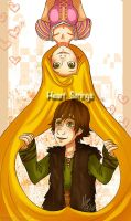 Hiccunzel:HeartStrings by Kiome-Yasha