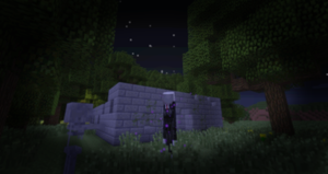 Slenderman in Minecraft by Ratmanxx