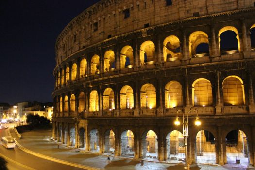 Colosseum at Night 2011 by xneo1