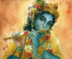 Krishna by sonmoi
