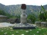 Moai in the continent by AyunCelebelen