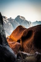 Colored Rocks by chilouX