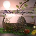 Nature Backgrounds by mmebuterfly