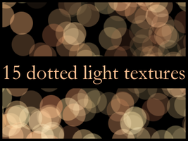 Dotted light textures 01 by yumi1805