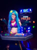 Arcade Sona Pump it Up: I guess I lose :( by SNTP