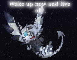 :CO: Wake Up Now and Live by GlassFeline