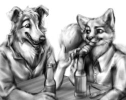 Bar Hounds by Anacita