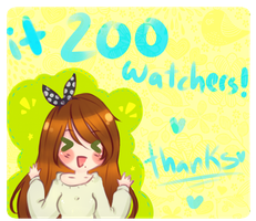 + 200 Watchers by Chronnellian