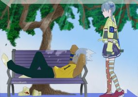 Cool Date by HollowRoxas