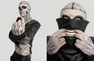 Zombie Boy Rico Genest for Stylenoir by stylenoir