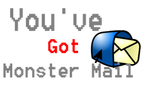 You've Got Monster Mail Icon by Saruseptember