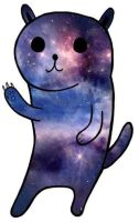 Cosmos cat by iSkyppi