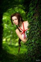 Aerith - Hi there by Achico-Xion