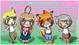 Happy 18 Eigie-chan by Cachomon