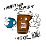 Dee-Dee: The Coffee Drinking, Coffee by MadDragonCharacters