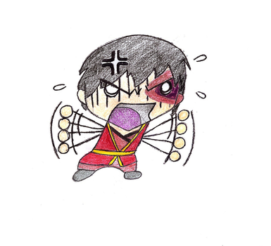 Avatar: The Last Airbender - Chibi: Angry Zuko by blossombritt