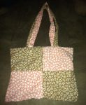 Checkered Bunny/Tanuki Laptop Bag by Spider-Spindle