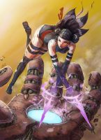 Psylocke the missing xmen in the movies by AlivanArt