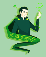 God of mischief by YamiEA