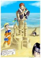 Naruto: Sandcastles by Ferntree