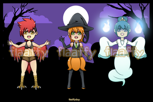 Halloween Adoptables (CLOSED) by FlaaffyShop