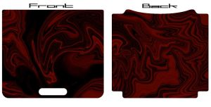 Black Flame GBA SP Skin by scorch87