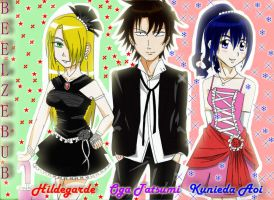 Choose your Date: Beelzebub Couples by mahousekai13