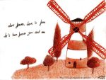 Windmill for the land by NouvelOrage
