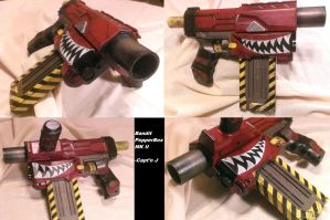 Bandit Pepperbox MKII by WhimsicalCaptnJ