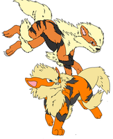 Arcanine by Midnightflaze
