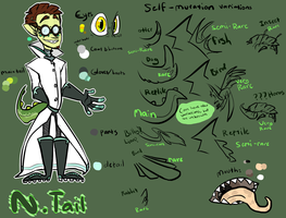 CB OC: Doctor N. Tail by artsysketches