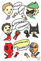 Marvel v. DC by PirateNinjaAssassin1