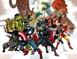 Avengers ComicVerse Soul color by SpiderGuile