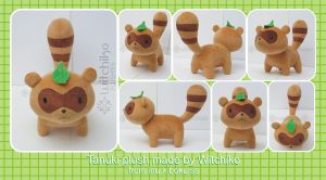 Tanuki plush:::: by Witchiko