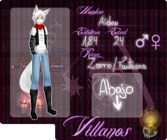 [TLO] Aiden // Villanos by SabryRG