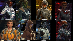 SWTOR Character Collage by Jaguard