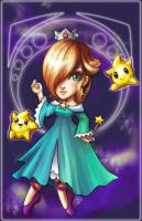Rosalina and Lumas by marywinkler