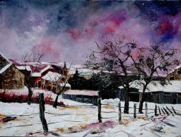 snow in Hulsonniaux by pledent