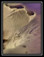 Snow Cliff by lehPhotography