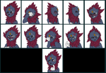 Commission - New Ven Emote Set 3 by MiaMaha