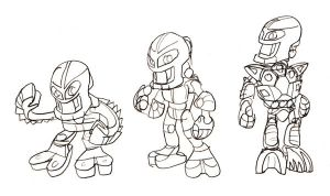 Matoran Evolution by Terrichance