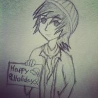 OLD!!! Holiday Drawing by predatorname