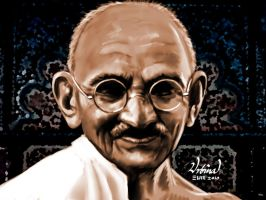Gandhi Comission by eumartleon