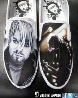 Nirvana shoes by VirulentApparel
