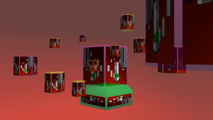 MMD Floating pentagons Stage by mbarnesMMD